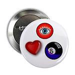 I Love 8 Ball 2.25