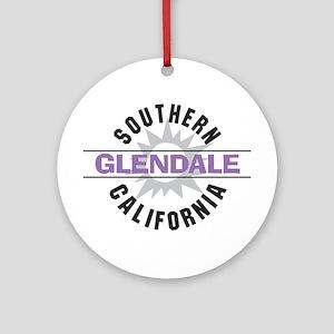 Glendale California Ornament (Round)