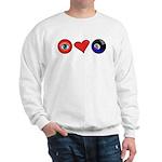 I Love 8 Ball Sweatshirt