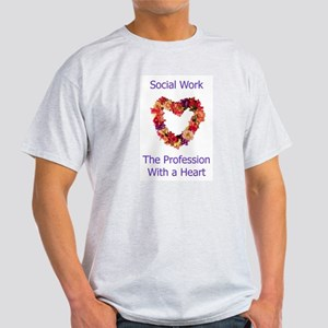 Social Work Heart Light T-Shirt
