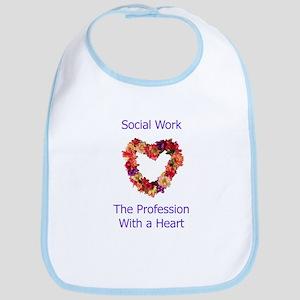 Social Work Heart Bib
