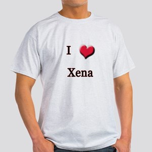 I Love (Heart) Xena Light T-Shirt