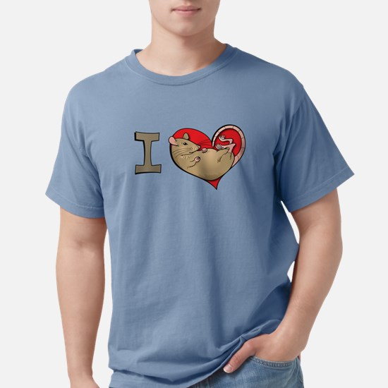 I heart rats (tan) T-Shirt