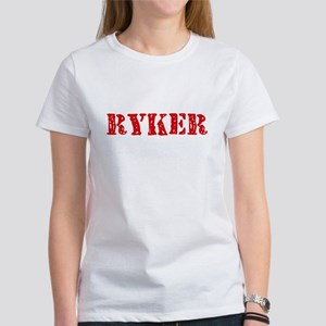 Ryker Rustic Stencil Design T-Shirt
