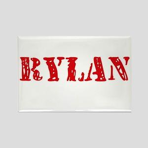 Rylan Rustic Stencil Design Magnets