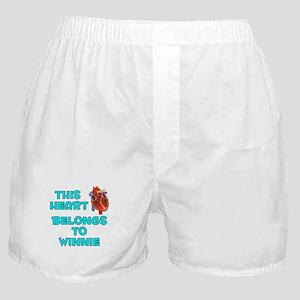 This Heart: Winnie (B) Boxer Shorts