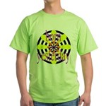 358b. born yesterday Green T-Shirt