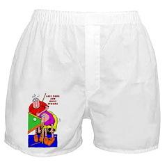 Less Poke More Stroke Boxer Shorts