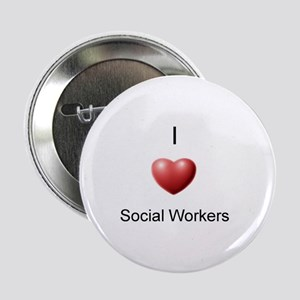 "I Heart Social Workers 2.25"" Button"
