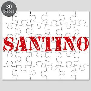 Santino Rustic Stencil Design Puzzle