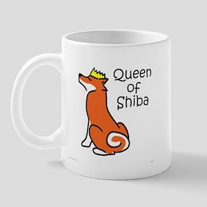 Queen of Shiba Mug