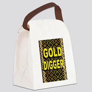 GOLD DIGGER Canvas Lunch Bag
