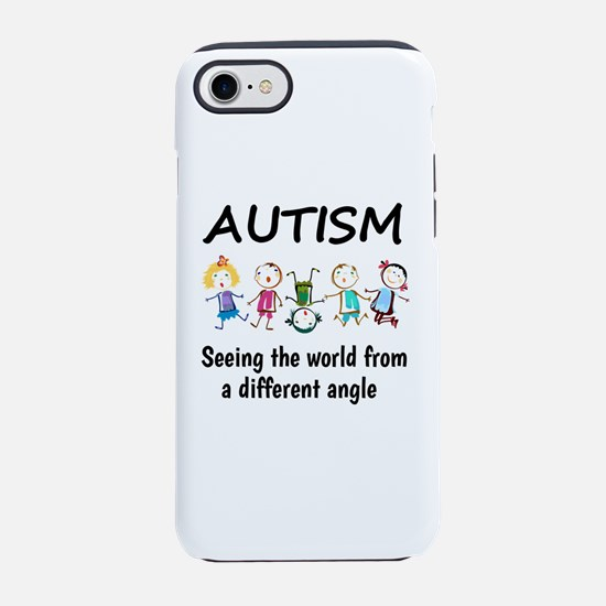 Autism...seeing the world fr iPhone 8/7 Tough Case