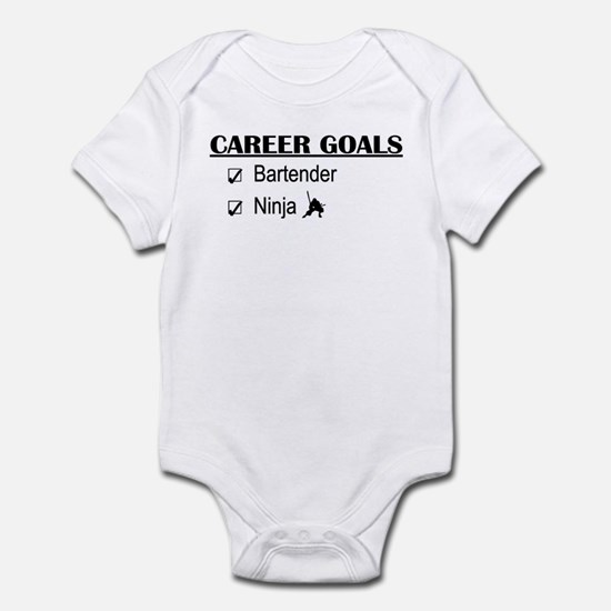Bartender Career Goals Infant Bodysuit