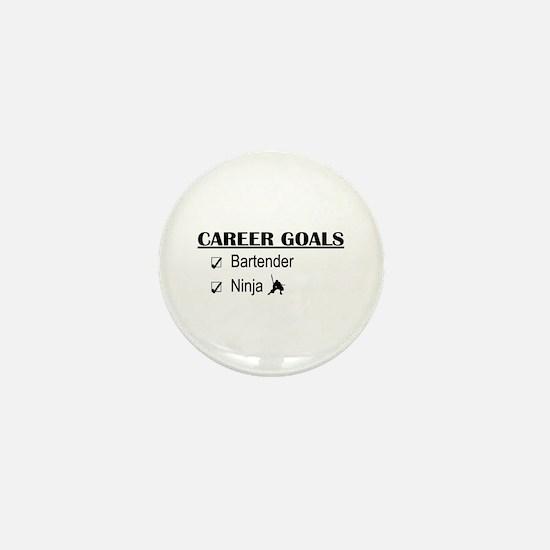 Bartender Career Goals Mini Button
