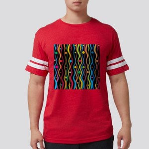 Colorful Ripples And Dots T-Shirt