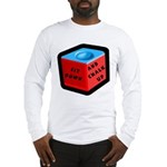 Sit Down and Chalk Up Long Sleeve T-Shirt