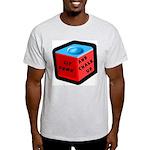 Sit Down and Chalk Up Ash Grey T-Shirt