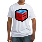 Sit Down and Chalk Up Fitted T-Shirt