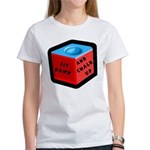 Sit Down and Chalk Up Women's T-Shirt