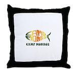 Camp Monroe Fish Throw Pillow