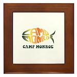 Camp Monroe Fish Framed Tile