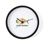 Camp Monroe Fish Wall Clock