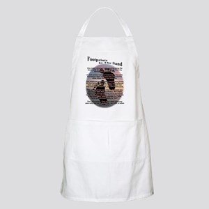 Footprints In The Sand BBQ Apron