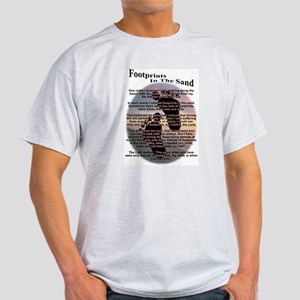 Footprints In The Sand Light T-Shirt