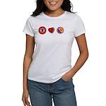 I Love 9 Ball Women's T-Shirt