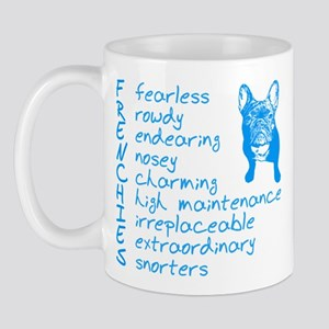 F R E N C H I E S blue Mug