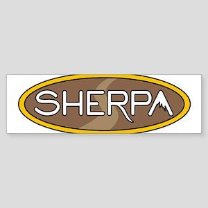 sherpa Bumper Sticker