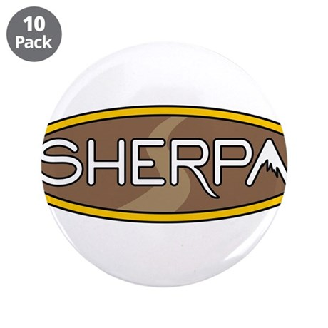 """sherpa 3.5"""" Button (10 pack)"""