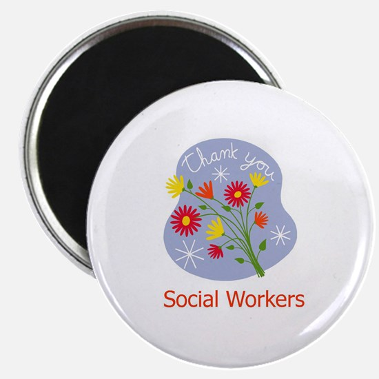 """Thank You 2.25"""" Magnet (10 pack)"""