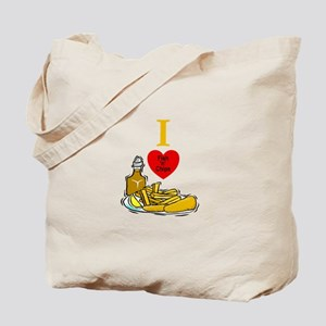 Fish N Chips Tote Bag