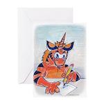 New Tigrikorn Letter Writing Greeting Cards