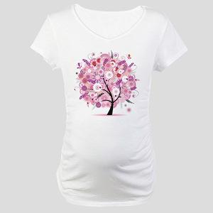 Tree of Life 22 Maternity T-Shirt