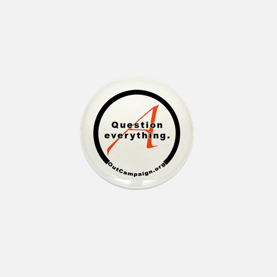 Unique Out campaign Mini Button