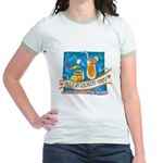Tropical Girls Night Out Jr. Ringer T-Shirt