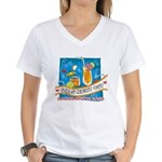 Tropical Girls Night Out Women's V-Neck T-Shirt
