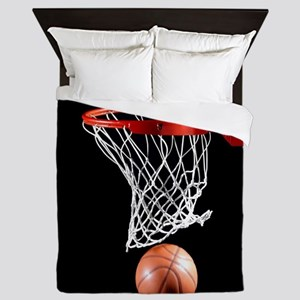Basketball Point Queen Duvet