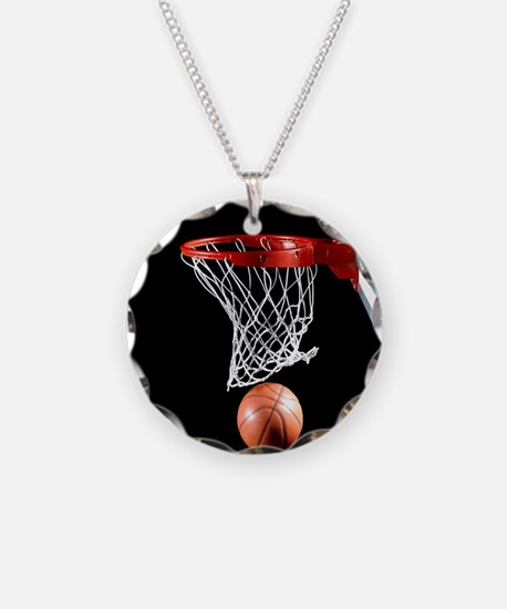Basketball Point Necklace
