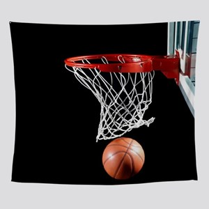 Basketball Point Wall Tapestry