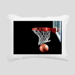 Basketball Point Rectangular Canvas Pillow