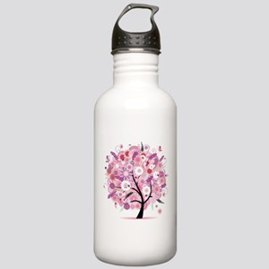 Tree of Life 22 Stainless Water Bottle 1.0L