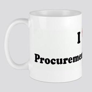 I Love Procurement & Logistic Mug