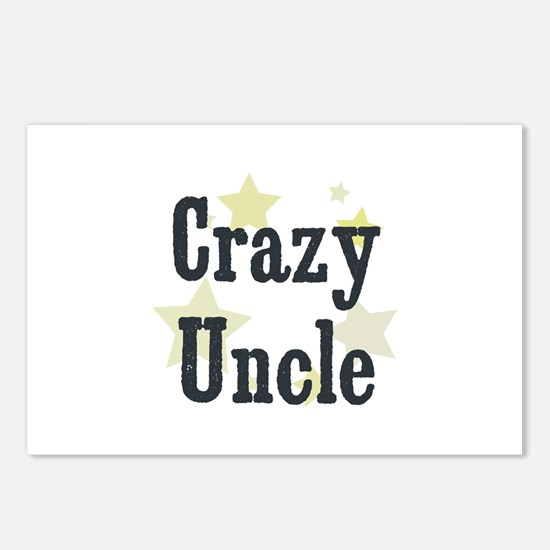 Crazy Uncle Postcards (Package of 8)