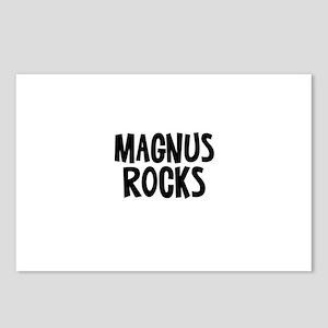 Magnus Rocks Postcards (Package of 8)