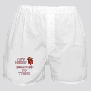 This Heart: Tyree (C) Boxer Shorts