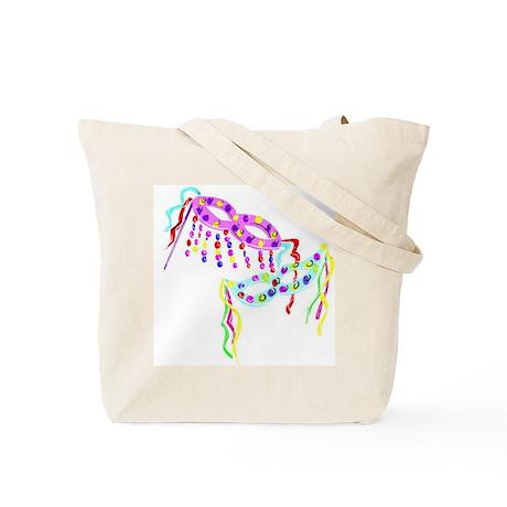 Colorful Mardi Gras Masks Tote Bag